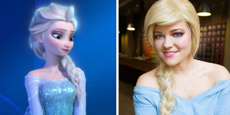 Elsa Frozen Makeup Tutorial - How to Do Princess Elsa ...