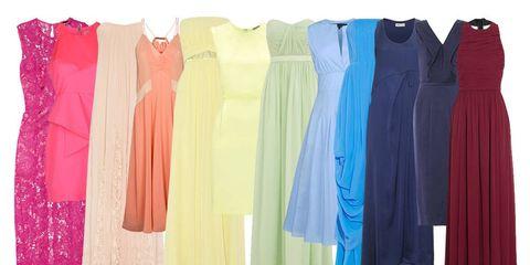 Blue, Textile, Clothes hanger, Fashion, Electric blue, Magenta, Aqua, Fashion design, Day dress, One-piece garment,