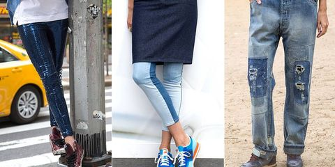 The Must-Have Jeans and Sneakers For Spring