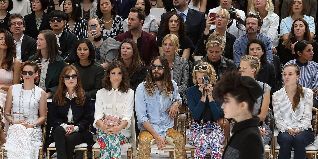 Stars in the Front Row at Paris Couture Week