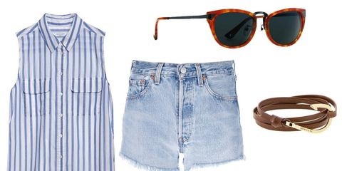 8 New Ways to Style Your Denim Shorts