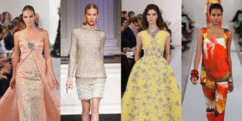 Clothing, Dress, Shoulder, Red, Style, One-piece garment, Fashion model, Formal wear, Waist, Fashion show,