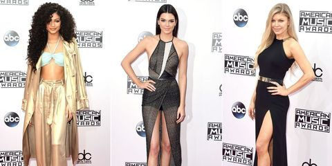 All The Looks From the American Music Awards Red Carpet