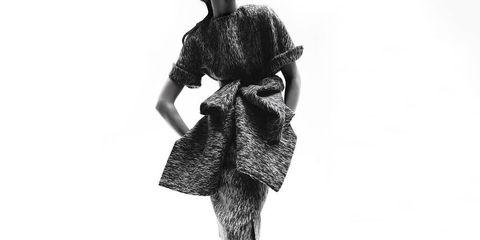 Sleeve, Shoulder, Joint, Style, Fashion, Neck, Fashion model, One-piece garment, Waist, Day dress,