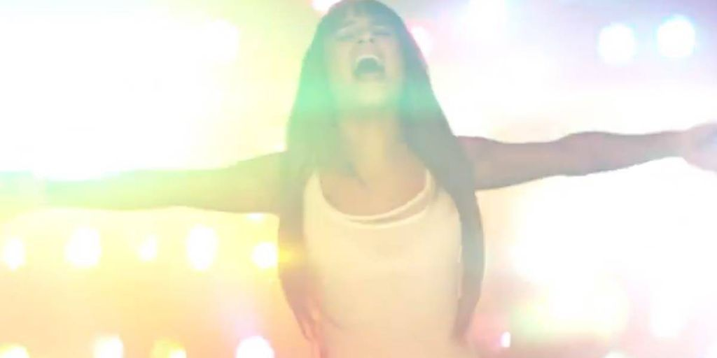 "Lea Michele Debuts Her First Music Video, ""Cannonball"""