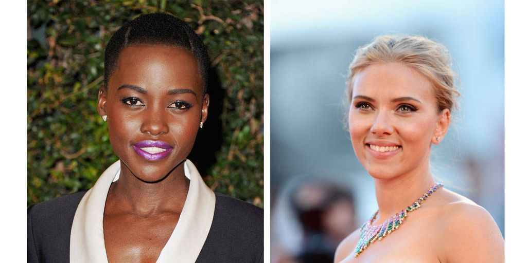 Lupita Nyong'o and Scarlett Johansson Rumored for Disney Remake