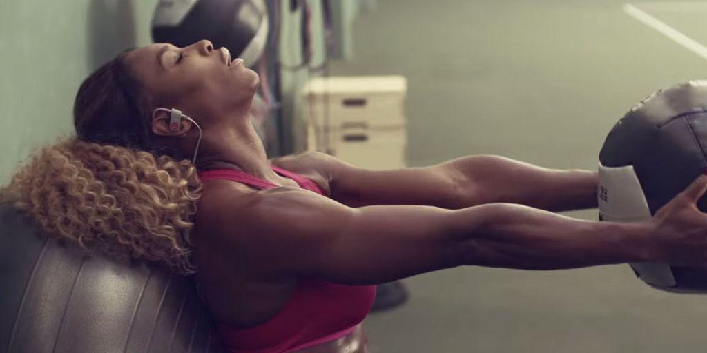 Serena Williams' Fierce New Beats Ad Will Inspire You
