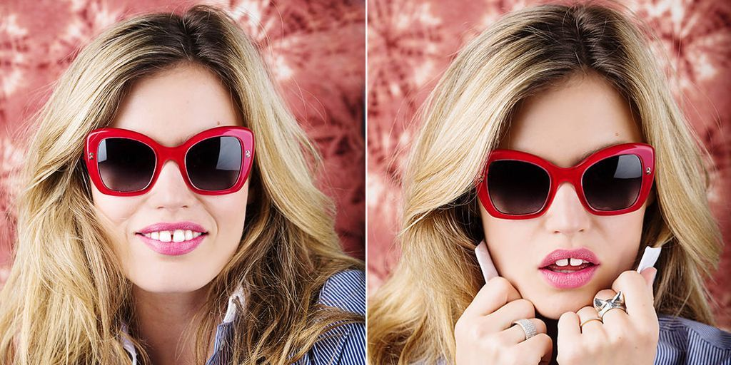 Georgia May Jagger's Summer Sunglasses and Lipstick Picks