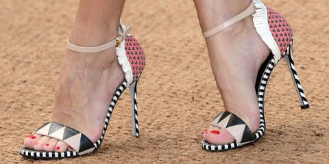 20 Colorful High Heels Sandals to Kick Off Spring