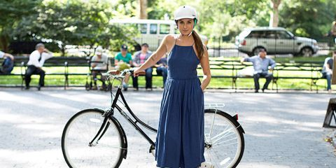Hairstyles That Work With a Bike Helmet