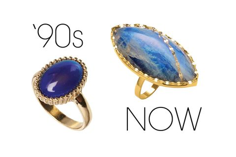 Blue, Jewellery, Fashion accessory, Amber, Aqua, Electric blue, Natural material, Ring, Font, Cobalt blue,