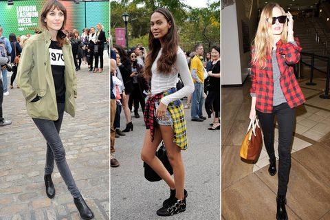 45c95537c Grunge Girls  15 Ways Today s Style Stars are Borrowing from the 90s