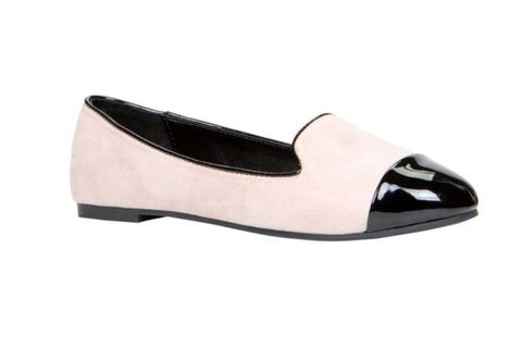 Tan, Black, Beige, Dress shoe, Ballet flat, Dancing shoe, Court shoe,