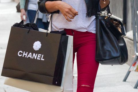 Bag, Paper bag, Luggage and bags, Street fashion, Fashion, Logo, Shoulder bag, Material property, Shopping bag, Leather,