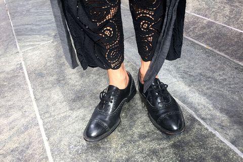 Footwear, Shoe, Style, Street fashion, Fashion, Black, Leather, Grey, Dress shoe, Monochrome,