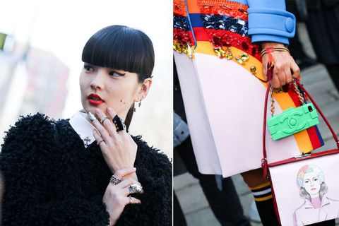 Style, Jewellery, Earrings, Black hair, Fashion accessory, Street fashion, Fashion, Eyelash, Bangs, Wrist,