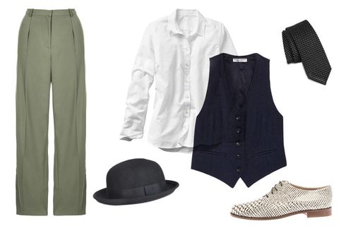 annie hall outfit