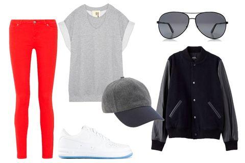Sleeve, Collar, Pattern, Fashion, Grey, Sunglasses, Design, Fashion design, Costume accessory, Button,