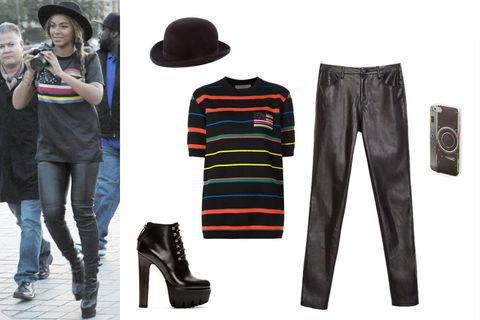 Clothing, Hat, Product, Sleeve, Denim, Textile, Style, Clothes hanger, Street fashion, Fashion,
