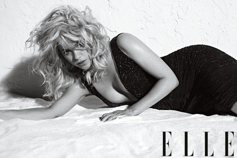 shakira elle cover shoot