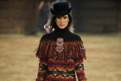 Hat, Sleeve, Textile, Headgear, Costume accessory, Street fashion, Fashion, Wool, Sweater, Woolen,