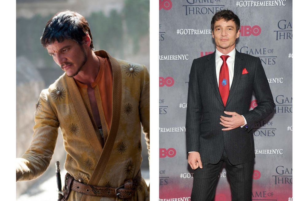 Oberyn Martell (Pedro Pascal) Transformation : 4, because the facial hair changes up his game.