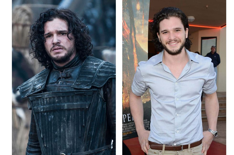 Jon Snow (Kit Harington) Transformation : 1.