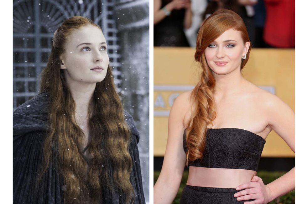 Sansa Stark (Sophie Turner) Transformation : 6.