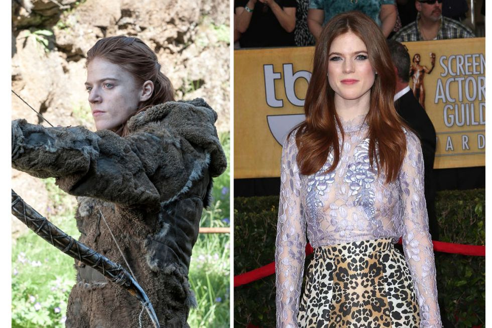 Ygritte (Rose Leslie) Transformation : 6.