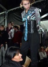 Just Cavalli Fall 2004 Ready-to-Wear Backstage 0002