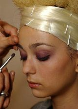 Christian Lacroix Fall 2004 Haute Couture Backstage 0002