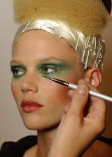 Christian Lacroix Fall 2004 Haute Couture Backstage 0003