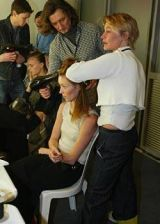 Yohji Yamamoto Fall 2003 Ready-to-Wear Backstage 0003