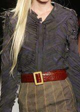 Zac Posen Fall 2003 Ready-to-Wear Detail 0002