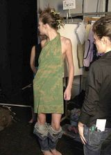 Custo Barcelona Spring 2004 Ready-to-Wear Backstage 0003