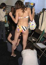 TataNaka Spring 2004 Ready-to-Wear Backstage 0003
