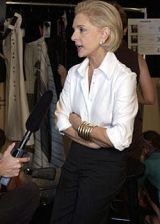Carolina Herrera Spring 2004 Ready-to-Wear Backstage 0003