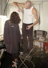 Boudicca Spring 2004 Ready-to-Wear Backstage 0002