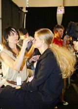 Michael Kors Spring 2004 Ready-to-Wear Backstage 0003