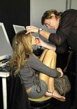 Anna Molinari Spring 2004 Ready-to-Wear Backstage 0002