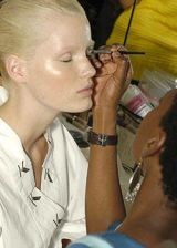 Krizia Spring 2004 Ready-to-Wear Backstage 0002