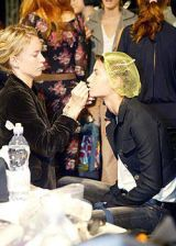 Alessandro Dell'Acqua Spring 2004 Ready-to-Wear Backstage 0002
