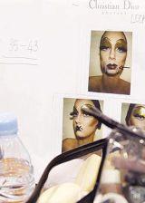 Christian Dior Spring 2004 Ready&#45&#x3B;to&#45&#x3B;Wear Backstage 0002