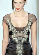 Badgley Mischka Fall 2004 Ready-to-Wear Detail 0003