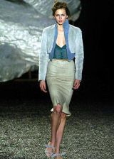Zac Posen Fall 2004 Ready&#45&#x3B;to&#45&#x3B;Wear Collections 0003
