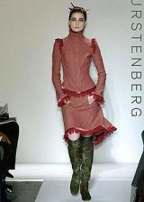Diane von Furstenberg Fall 2004 Ready-to-Wear Collections 0002