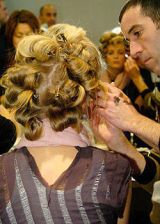 Calvin Klein Fall 2004 Ready-to-Wear Backstage 0003