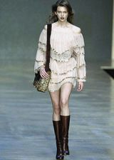 Blumarine Fall 2004 Ready-to-Wear Collections 0002