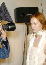 Isabel Marant Fall 2004 Ready-to-Wear Backstage 0002