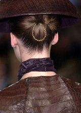 Ralph Rucci Fall 2004 Haute Couture Detail 0003